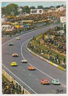 [932] LE MANS, 24 Heures. Virage Dunlop.- Automobilism, Automobilismo, - Circulée En 1976. Posted In 1976. - Le Mans