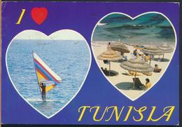 °°° 13012 - TUNISIA TUNISIE - VIEWS - 1990 With Stamps °°° - Tunisia