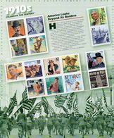 US 1998 CELEBRATE THE CENTURY 1910's VF-XF MNH** Full Sheet Sc # 3183 !! - Sheets