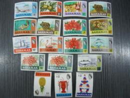 Bahamas  1971  Definitive   SCOTT No.313-330 I201807 - Bahamas (1973-...)