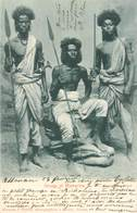 "CPA   SOUDAN ""guerriers"" - Soudan"