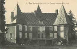 """.CPA  FRANCE 21 """"Les Maillys, Le Château Vue Prise Sur Le Parc"""" - France"""