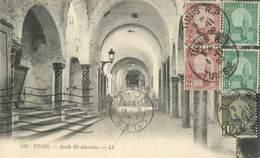 """CPA TUNISIE  """"Tunis, Souk El Attarine"""" - Tunisia"""