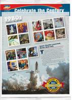 US 2000 CELEBRATE THE CENTURY 1980's VF-XF MNH** Full Sheet,33c Sc # 3190 !! - Sheets