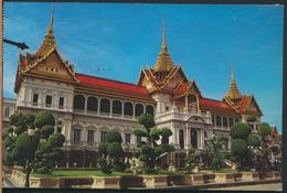 °°° 13022 - THAILAND - THE ROYAL GRAND PALACE - 1985 With Stamps °°° - Tailandia