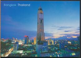 °°° 13023 - THAILAND - HIGHEST SKY BUILDING IN BANGKOK - With Stamps °°° - Tailandia