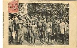 Nouvelles Hebrides Vanuatu New Hebrides Postcard Campagne Kersaint Tribu Mallicolo Arc Ed De Bechade N°29 Ut BE - Vanuatu