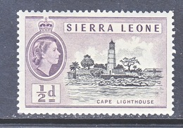 SIERRA  LEONE  195    ** - Sierra Leone (...-1960)
