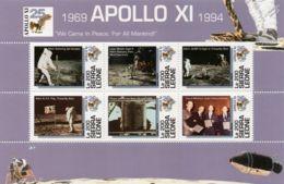 Sierra Leone 1994  First Manned Moon Landing 25th Anniv SCOTT No.1729 I201807 - Sierra Leone (1961-...)