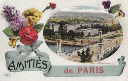 Amitiés De Paris - Le Pont Alexandre III - Carte E.L.D. - Souvenir De...