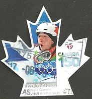 Sc. #3008 Canada 150 Olympic Games  2017 Booklet Single K060 - 1952-.... Règne D'Elizabeth II