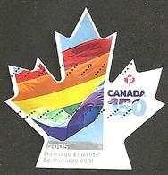 Sc. #3007 Canada 150 Marriage Equality 2017 Booklet Single K061 - 1952-.... Règne D'Elizabeth II