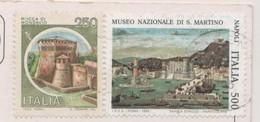 ITALIE 1995 - MUSEO NAZIONALE DI S. MARTINO NAPOLI ET ROCCA DI MONDAVIO, CARTE DE PESCHIERA - A VOIR - 1991-00: Gebraucht