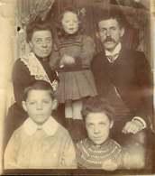 041218 - GENEALOGIE Familles DUJARDIN CAILLET - époux Jeanne DUJARDIN Henri CAILLET 3 Enfants Maurice Suzanne Simone - Généalogie