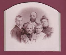041218 - GENEALOGIE Familles DUJARDIN CAILLET - Famille Jules DUJARDIN Ses 3 Enfants Lucien Fernande René - Généalogie