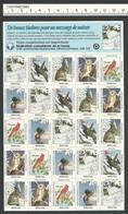 B53-42 CANADA Canadian Wildlife Federation Xmas Seals Sheet 1993 MNH French - Local, Strike, Seals & Cinderellas