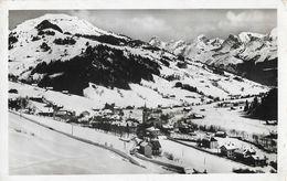 Grand Bornand (Haute-Savoie) Vue Générale, Le Mont Lachat, La Pointe Percée Et Chaîne Des Aravis - Edition GIL - Francia