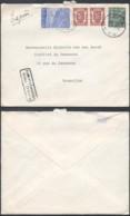 A184 Lettre Par Exprès De Leuven à Bruxelles 1949 - 1929-1937 Heraldischer Löwe