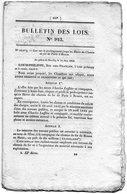 LE HAVRE // Bulletin Des Lois , Chemin De Fer // Lot 91 - Normandie