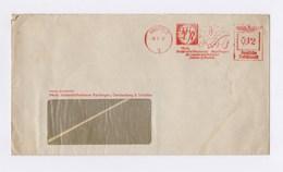 Umschlag AFS - KREFELD, Mech. Seidenstoffweberei Reutlingen, Gerstenberg & Tritschler 1937 - Deutschland