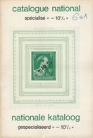 """Belgique - Catalogue National Spécialisé """"-10%"""" / Nationale Kataloog Gespecialiseed """"-10%"""" - Gaston M. Blumental 1975 - Philatélie Et Histoire Postale"""