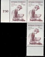 ** Austria - 1955 - Mi. 3x 1023 - Day Of The Stamp - 1945-.... 2ème République