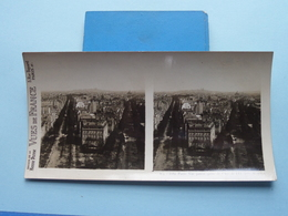 PARIS : Vue Panor, Prise De L'Arc De.....  : S. 9 - 3260 ( Maison De La Bonne Presse VUES De FRANCE ) Stereo Photo ! - Stereoscoop