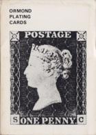 Ormond Plating Cards (pocket Guide To Plating The Penny Black) 1971 - Philatélie Et Histoire Postale