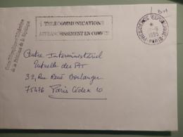 Enveloppe De La Présidence De La République - Marcophilie (Lettres)