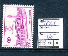 BELGIQUE BELGIUM COB TR376 MNH - 1952-....