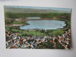 Clairvaux Les Lacs. Vue Aerienne. Cellard 55715 Postmarked 1961 - Clairvaux Les Lacs