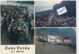 CPM GF  -37029 - Cabo Verde S.To - Scène De La Vie Locale   ( Détails  = 2 Scans) - Cap Vert
