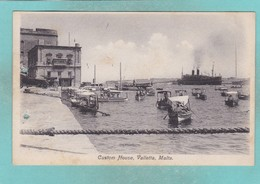 Old Post Card Of Custom House,Valletta,Malta,R86. - Malta