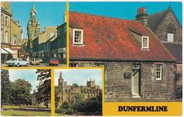 Dunfermline: FORD CORTINA MK4 - Bridge Street, Pittencrieff Park, Abbey - Scotland - Toerisme