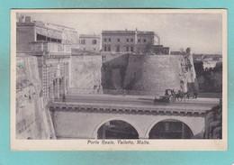 Old Post Card Of Porta Reale,Valletta,Malta,R86. - Malta