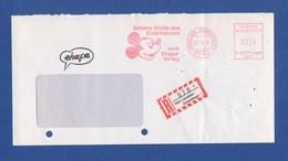 R-Brief Umschlag AFS - LEINFELDEN ECHTERDINGEN, Entenhausen, Ehapa-Verlag 1991 - Disney