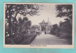 Old Post Card Of Maglio Gardens,Malta,R86. - Malta