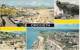 Criccieth: FORD CORTINA MK2, VAUXHALL VIVA HB - Promenade, Beach,Castle, Marine Terrace - Wales - Toerisme