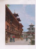 CPM NEPAL, DARBAR SQUARE, KATHMANDOU (voir Timbre) - Népal