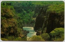 Bridge Over Zambezi Z$200 - Zimbabwe