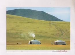 CPM MONGOLIE, NOMADIC (voir Timbre) - Mongolie