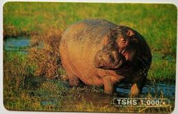 Hippo  1,000 Shillings - Tanzania
