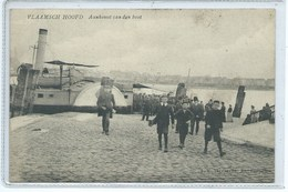 Antwerpen Anvers Vlaamsch Hoofd Aankomst Van Den Boot - Antwerpen