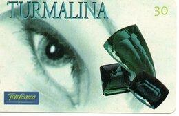 Télécarte  Brésil Yeux Oeil Bijou Pierre Précieuse Phonecard  (G 554) - Brésil