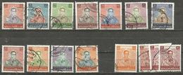 Thailand - 1984-5 King Bhumibol Used   Sc 1081-93 - Thailand