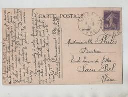 Généalogie 1929 Philis Directrice Ecole Laique De Filles Sain Bel  Chartreuse Prairie Col De Porte - Genealogie