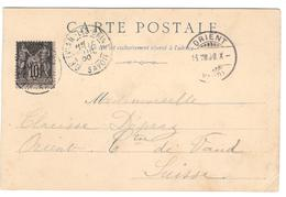 10647 - Pour La SUISSE - Postmark Collection (Covers)