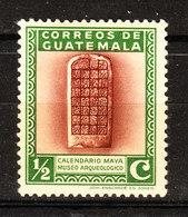 Guatemala  -  1939.  Calendario Maya. Mayan Calendar. MLH - Archeologia