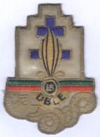 Insigne De La 13e Demi Brigade De La Légion Etrangère - Ecussons Tissu