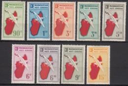 PA N° 16 Au N° 24 - X - ( C 1655 ) - Madagascar (1889-1960)